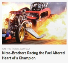 Altered Fuel Car Throttle Malfunction Causing Engine Failure